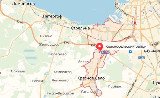 Отсутствие метро на юге Петербурга грозит коллапсом и заморозкой стройки. Фото Скриншот Яндекс. Карты.