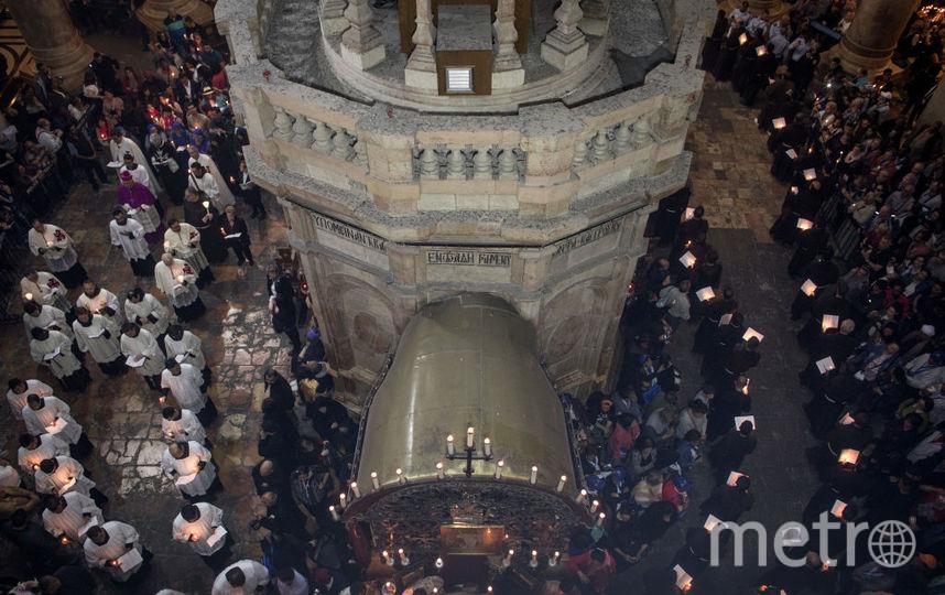 В Иерусалиме проходят предпасхальные шествия - туда съехались со всего мира тысячи туристов и паломников. Фото Getty