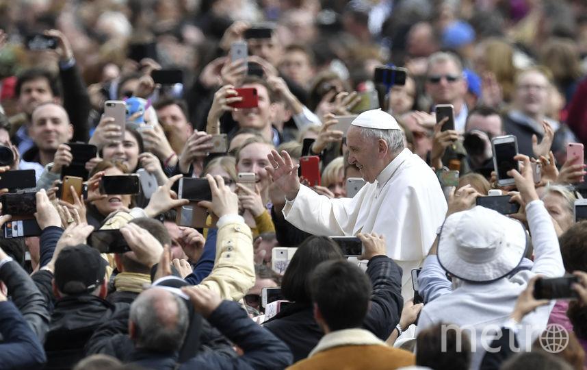 Папа римский Франциск возглавил в Ватикане праздничное пасхальное богослужение. Фото AFP