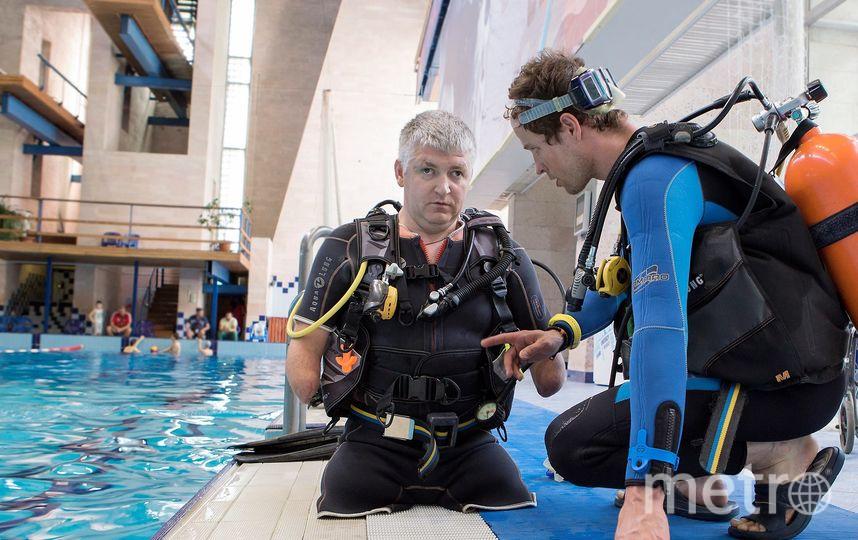 """38-летний Дмитрий Павленко, человек с ампутированными конечностями, хочет побить мировой рекорд, погрузившись на 40 метров. Фото предоставлено Дмитрием Павленко, """"Metro"""""""