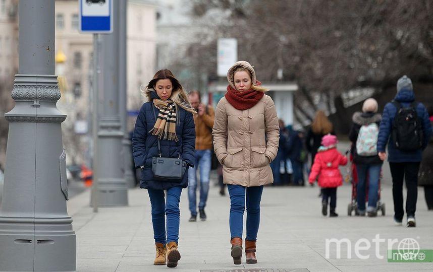 В понедельник в Москве ожидается до 10 градусов тепла. Фото Василий Кузьмичёнок