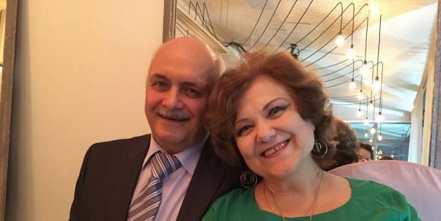 Евгений Цедейко с женой Аллой.