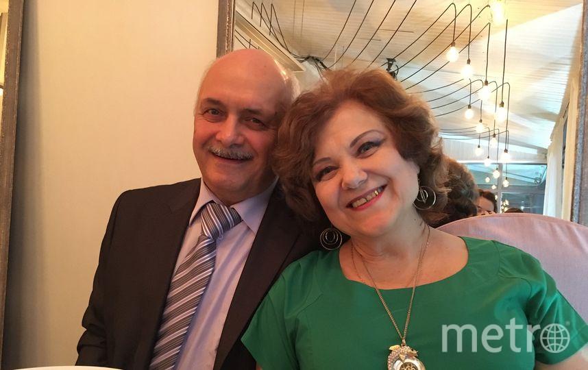 Евгений Цедейко с женой Аллой. Фото предоставлено героями материала.