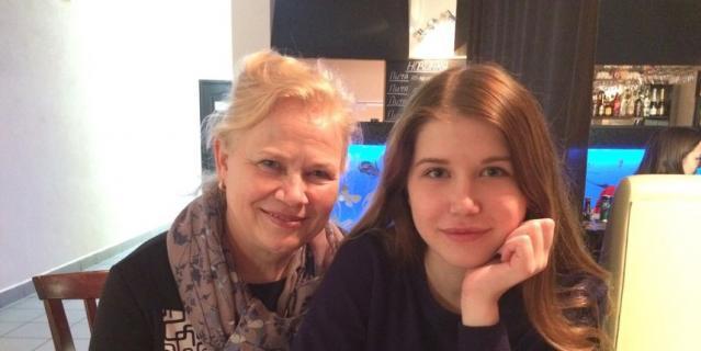 Людмила и Дарья Долматовы.