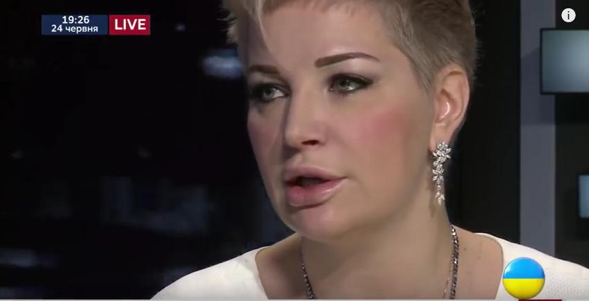 Мария Максакова. Фото Скриншот Youtube
