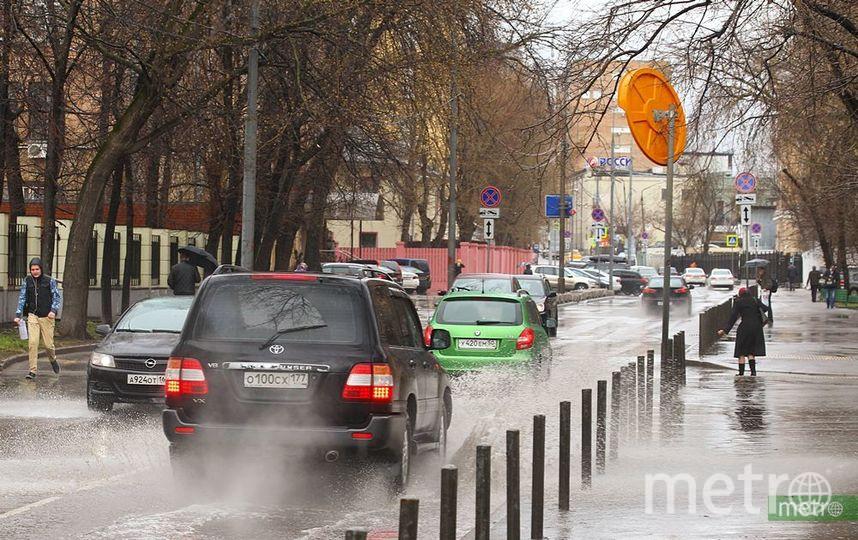 МЧС рекомендует москвичам держаться вдали от деревьев. Фото Василий Кузьмичёнок
