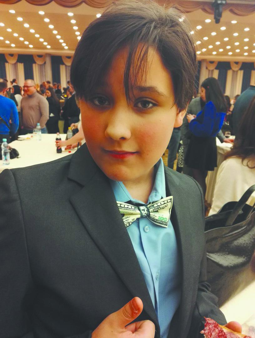 "Миша, 11 лет. Фото ""Metro"""