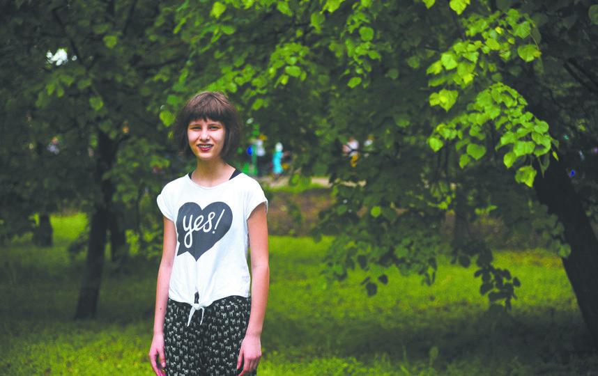 """Нина, 14 лет. Фото """"Metro"""""""