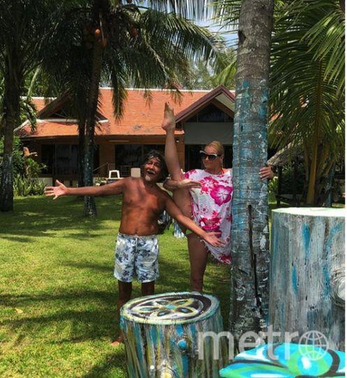 Волочкова отдыхает в Таиланде. Фото Instagram