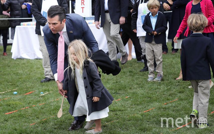 Мелания и Дональд Трамп провели в Белом доме пасхальное катание яиц: Фото. Фото Getty