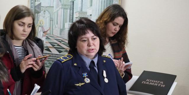 Нина Шмелева, дежурная по станции.