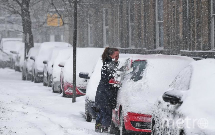 Снег в Петербурге. Фото Getty