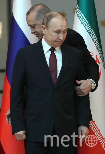 Путин и Эрдоган в Анкаре. Фото AFP