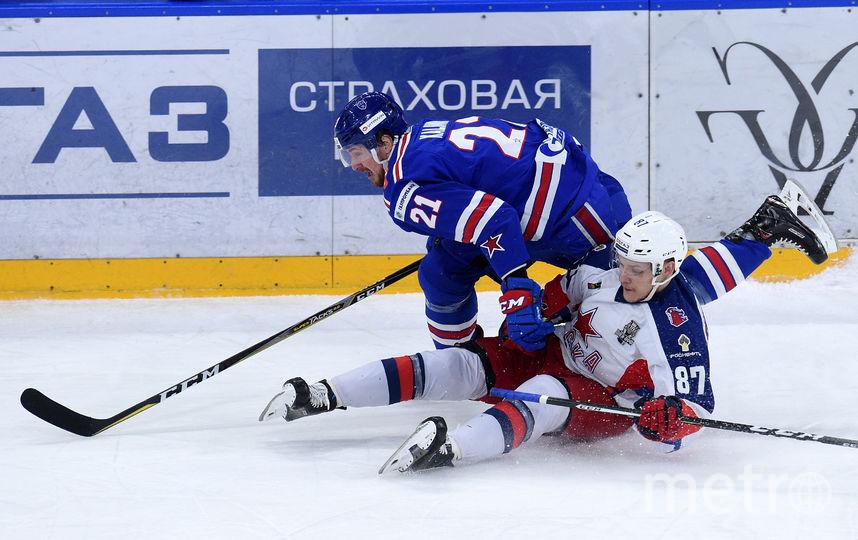 Хоккеисты ЦСКА сегодня могут сравнять счёт в финальной серии Западной конференции. Фото Юрий Кузьмин | photo.khl.ru