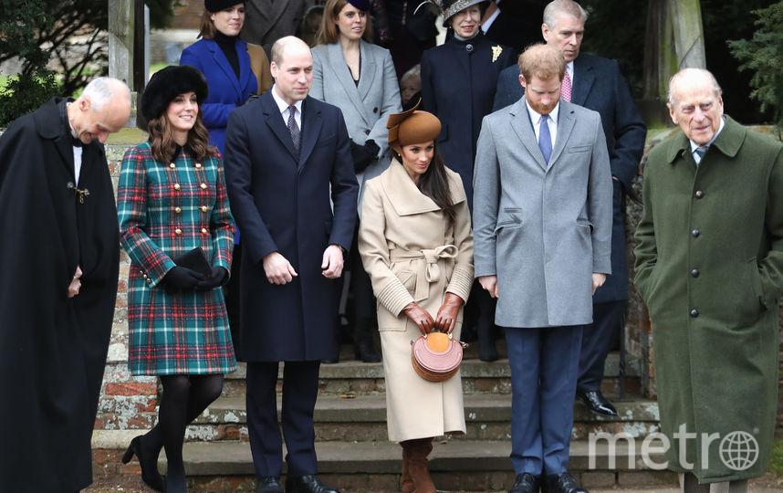 Кейт Миддлтон, принц Уильям, Меган Маркл, принц Гарри, принц Филлип. Фото Getty
