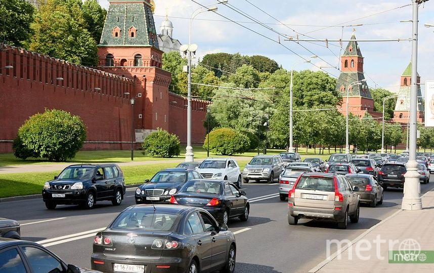 Несколько улиц в центре Москвы перекроют. Фото Василий Кузьмичёнок