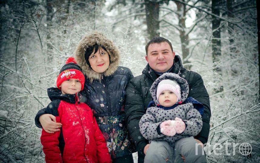 Евгений, Олеся, Сергей и Ксюша (архивное фото). Фото предоставила Наталья Пузикова
