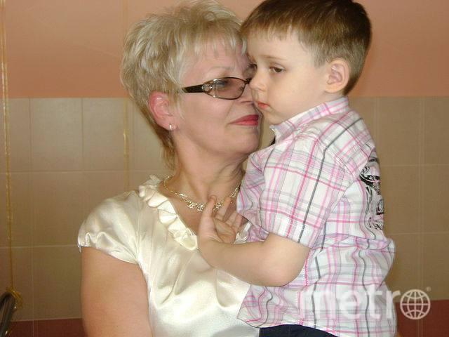 Наталья Пузикова с маленьким Серёжей. Фото предоставила Наталья Пузикова