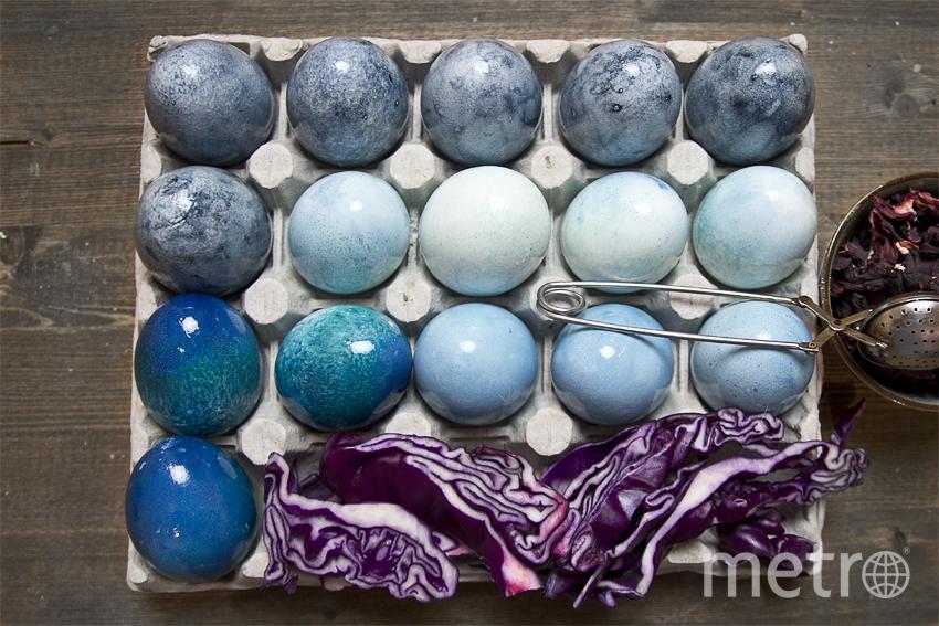 """Дымчато-синий получится из красного каркаде. Фото Анна Тихонова, """"Metro"""""""