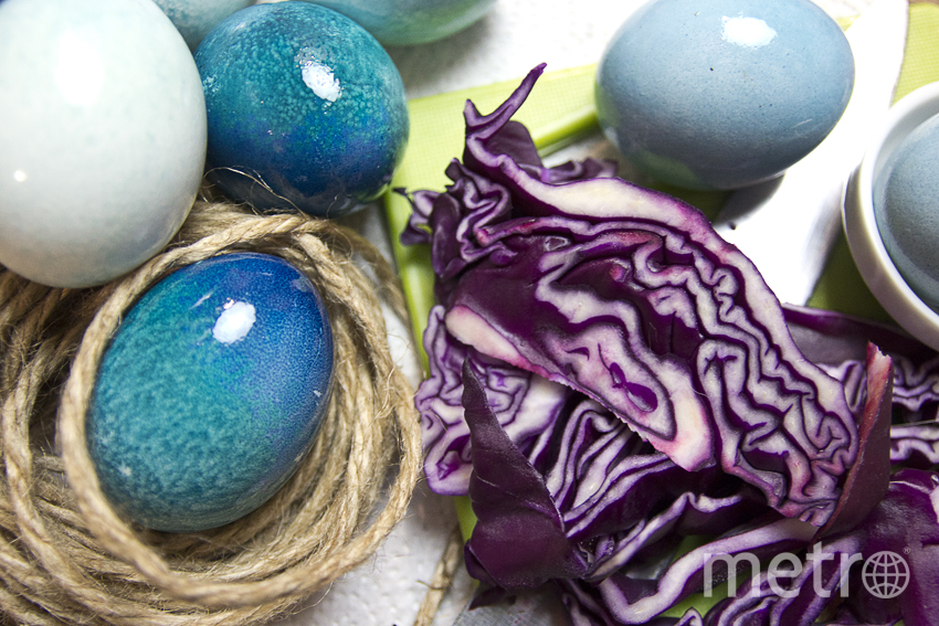 "Небесно-голубой даст фиолетовая капуста. Фото Анна Тихонова, ""Metro"""