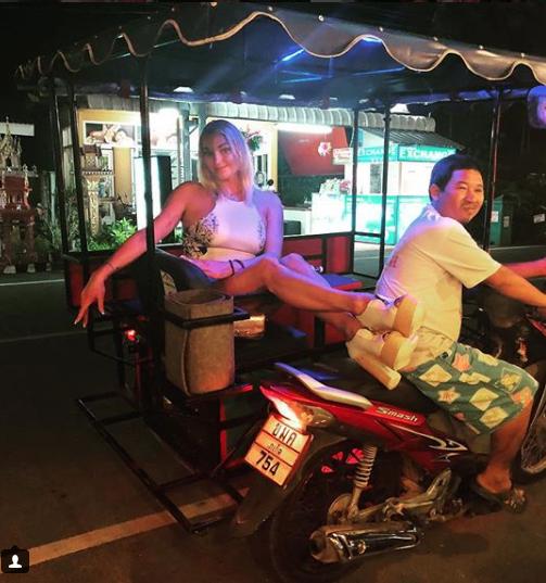 Волочкова в Таиланде.