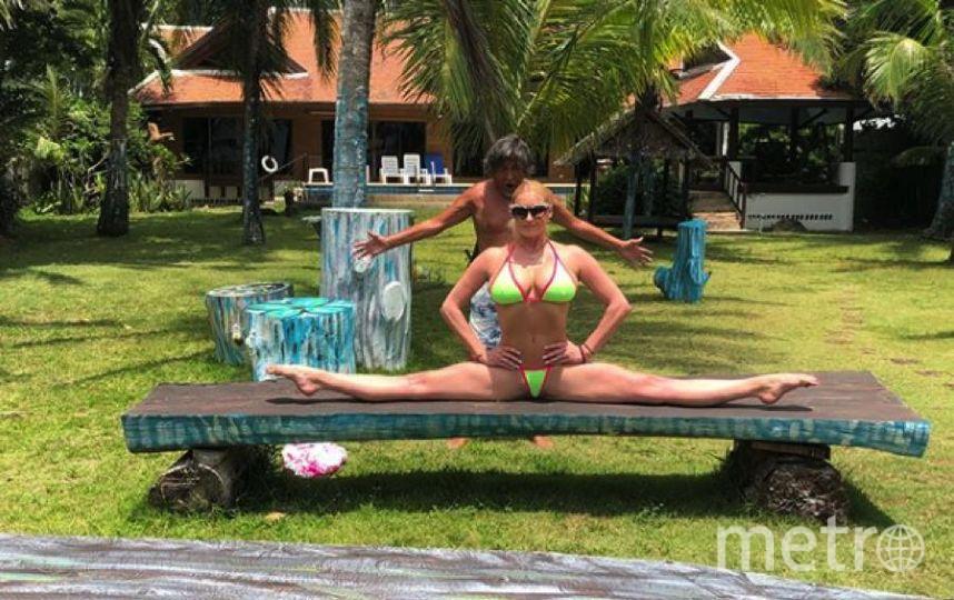 Волочкова отдыхает в Таиланде.