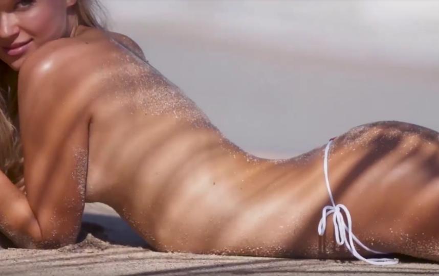Вита Сидоркина снялась для Sports Illustrated. Фото Скриншот Youtube
