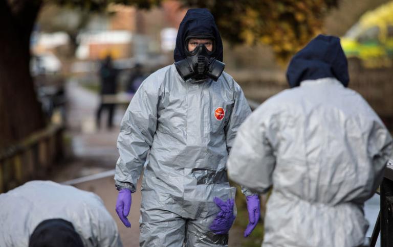 Инцидент произошёл в британском городе Солсбери 4 марта. Фото Getty