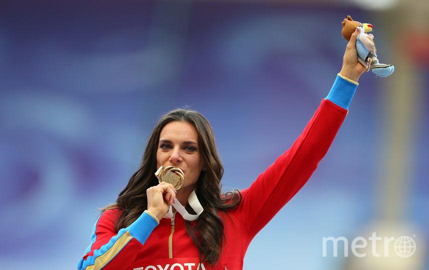 Елена Исинбаева. Фото Getty