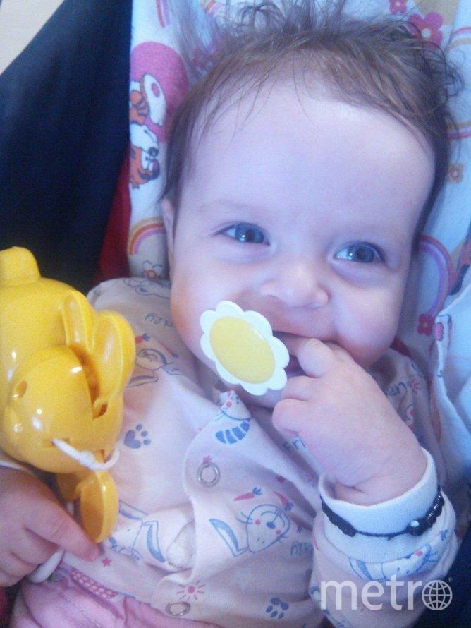 """Малышка Камилла. Фото предоставлено фондом """"Подсолнух"""""""