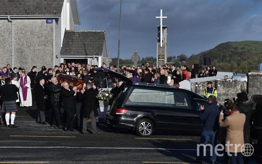 Долорес О'Риорданн, похороны. Фотоархив. Фото Getty