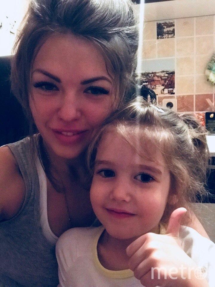 Евгения с дочкой. Фото предоставила Евгения Захарова