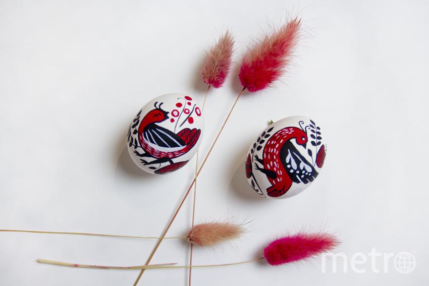 """С помощью красок можно превратить пасхальные яйца в настоящие произведения искусства. Фото Анна Тихонова, """"Metro"""""""