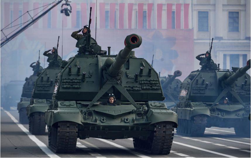 """Парад Победы в Петербурге - 2017. Фото """"Metro"""""""
