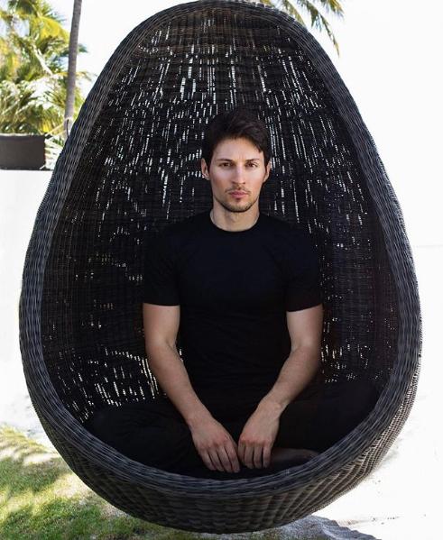 Павел Дуров. Фото Скриншот Instagram: durov