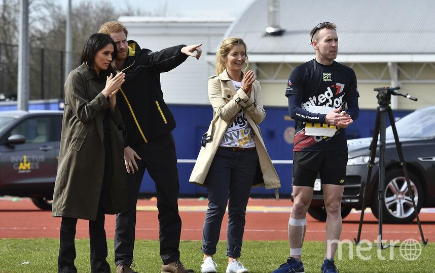 """Меган Маркл и принц Гарри на """"Играх непобеждённых"""". Фото AFP"""