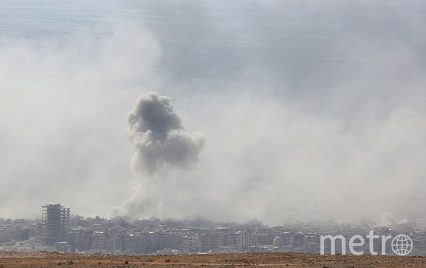 В результате применения токсичного газа в сирийском городе Дума погибли 70 человек. Официального подтверждения данной информации пока не поступало. Фото AFP