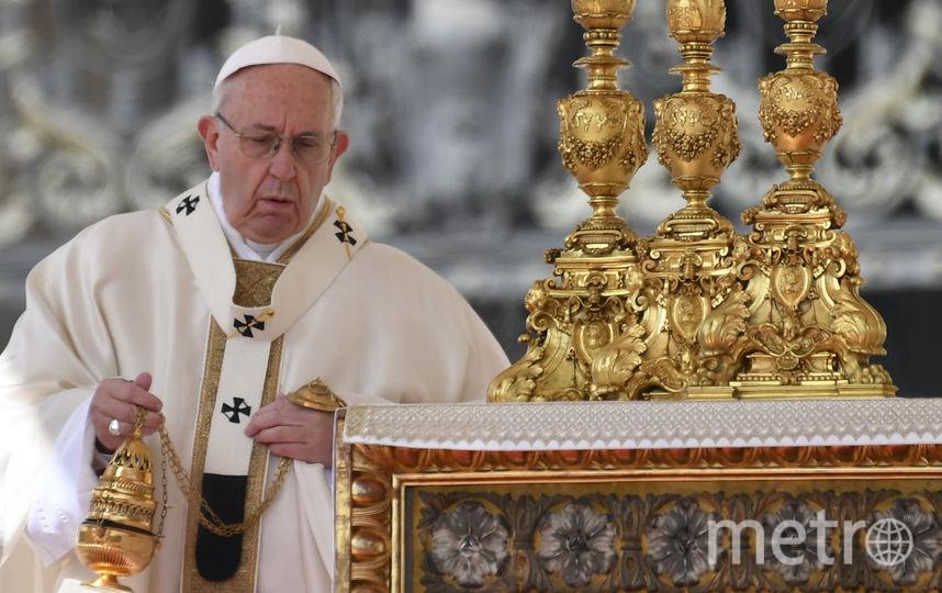 Папа Римский поздравил православных с праздником. Фото AFP