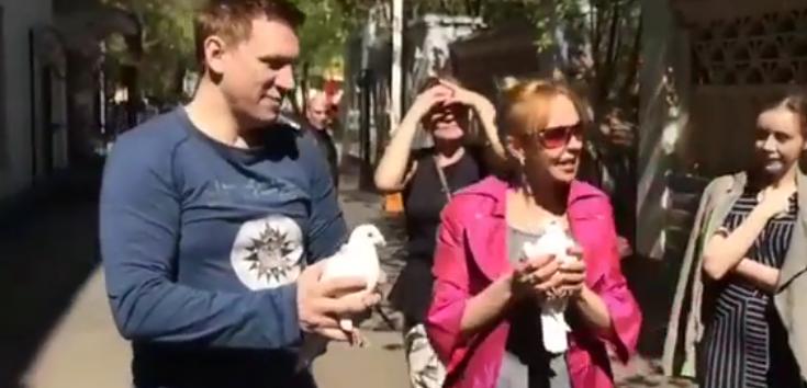 Анжелика Волчкова, фотоархив. Фото Скриншот видео Instagram