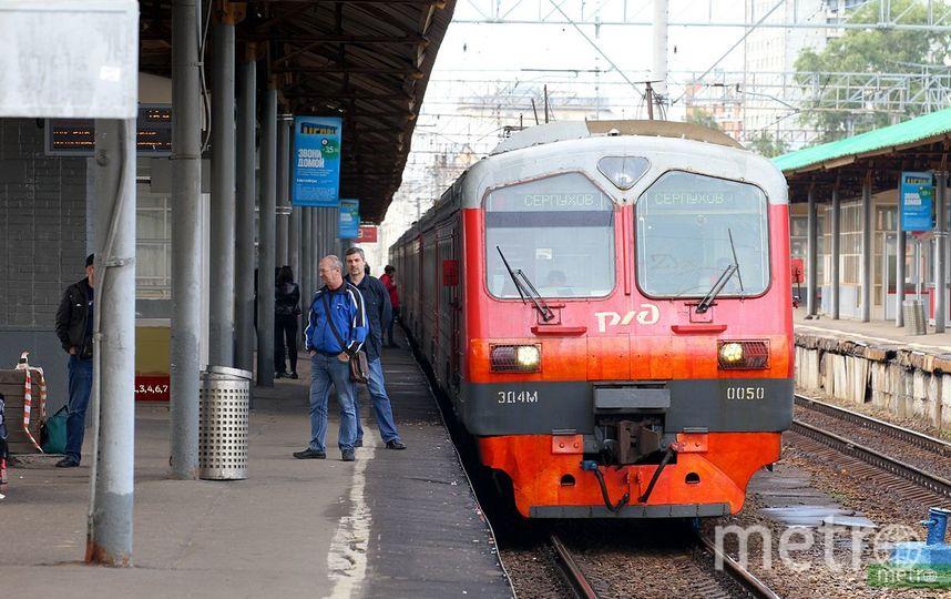 Часть электричек на Белорусском направлении МЖД задержаны и отменены. Фото Василий Кузьмичёнок
