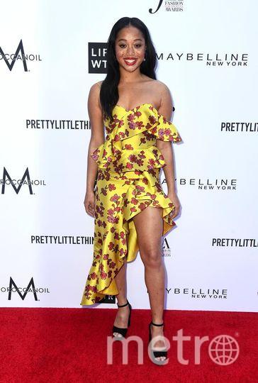 Fashion Los Angeles Awards. Сэлем Митчелл. Фото Getty