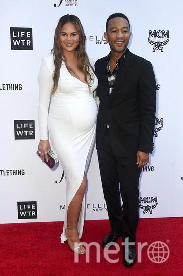 Fashion Los Angeles Awards. Крисси Тейген и Джон Ледженд. Фото Getty