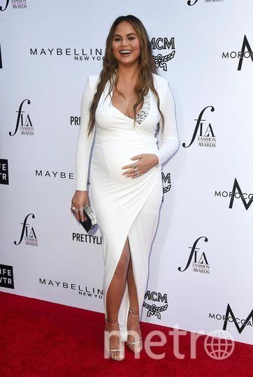 Fashion Los Angeles Awards. Крисси Тейген. Фото Getty