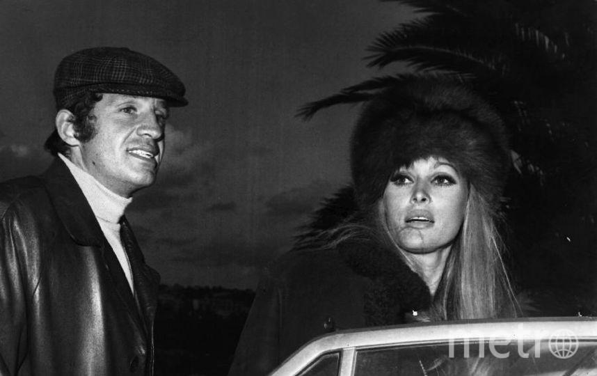 Жан-Поль Бельмондо. 1968 год. С Урсулой Андресс. Фото Getty