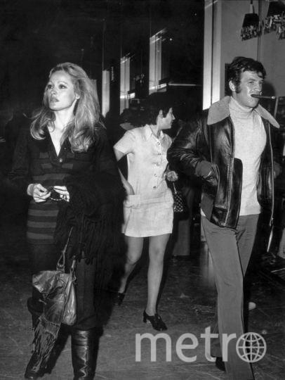 Жан-Поль Бельмондо. 1971. С Урсулой Андресс. Фото Getty