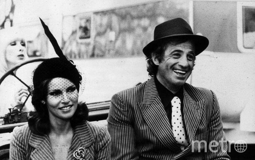 Жан-Поль Бельмондо. 1977. С Рейчел Уэлш. Фото Getty