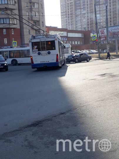 Фото с места ДТП с автобусом. Фото vk.com