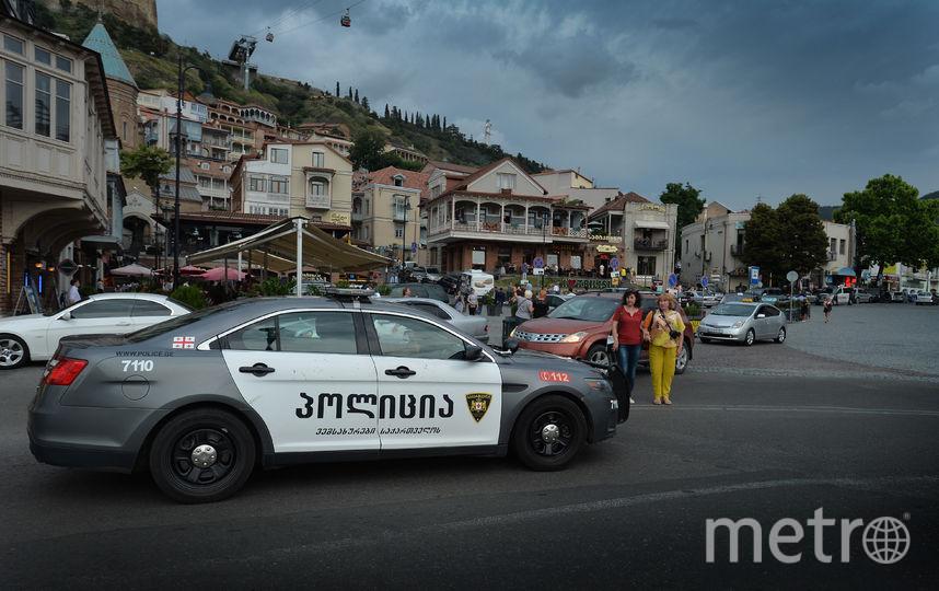 Полиция Тбилиси. Фото Getty