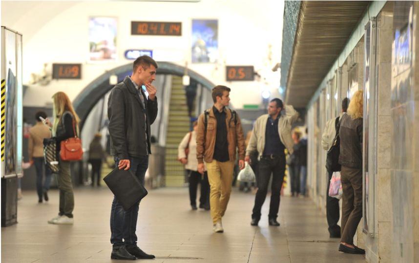 """Открытие """"Василеостровской"""" в 2016-м году после ремонта. Фото """"Metro"""""""