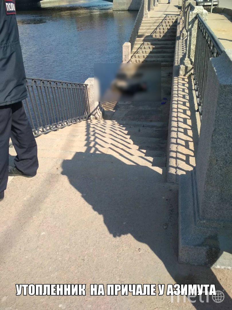 Набережная реки Фонтанки. Фото ДТП и ЧП | Санкт-Петербург | vk.com/spb_today., vk.com